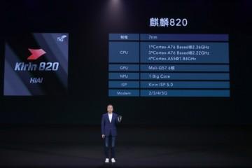 华为发布第二款5G芯片麒麟820荣耀30S首发搭载