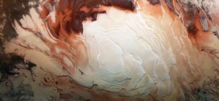 NASA火星南极地下湖泊之谜进一步加深